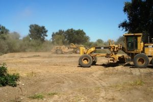 Tuolumne River Conservancy California - Bobcat Flat - Constructing By-pass Channel